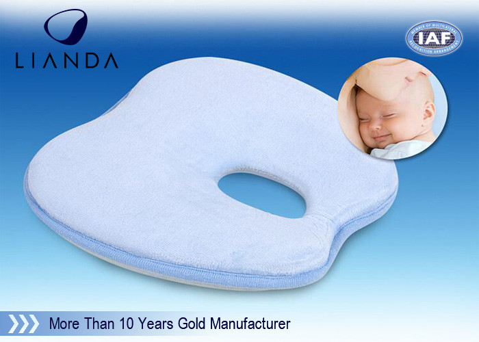 100% Cotton Small Toddler Pillow , Infant Sleep Pillow For Baby