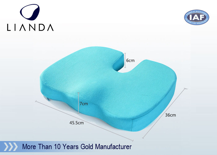 Orthopedic comfort foam Coccyx seat cushion For Office/Home Use
