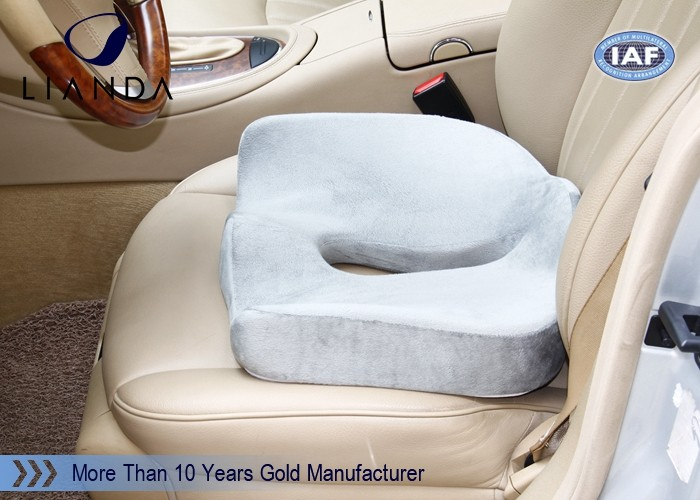 Donut Design Memory Foam Cushion For Car Seat Self Heating Holding Warm Air Within